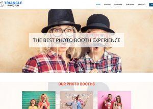 Triangle Photo Fun's website featured image