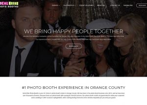 SoCal Elite Photo Booths web design featured image
